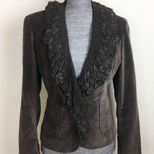Moda International Soft Blazer Crop Jacket
